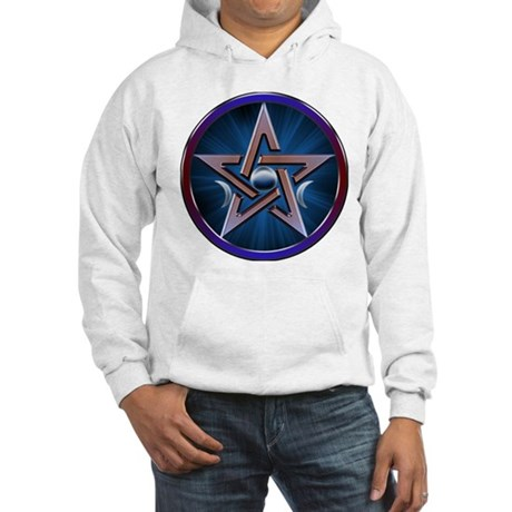 Lunar Goddes Pentagram Hooded Sweatshirt
