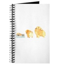 Pomeranian Puppy Collage Journal