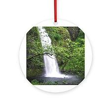 Waterfall Ornament (Round)