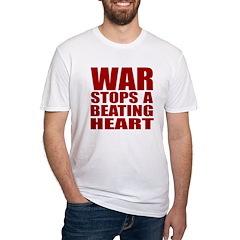 War Stops a Beating Heart Shirt