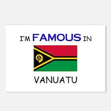 I'd Famous In VANUATU Postcards (Package of 8)