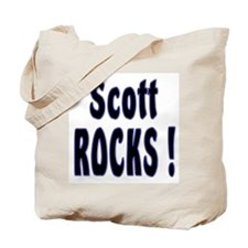 Scott Rocks ! Tote Bag
