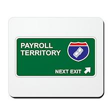 Payroll Territory Mousepad