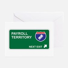 Payroll Territory Greeting Cards (Pk of 10)
