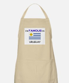 I'd Famous In URUGUAY BBQ Apron