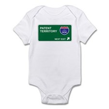 Patent Territory Infant Bodysuit