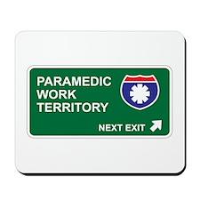 Paramedic, Work Territory Mousepad