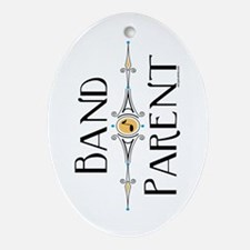 Band Parent Oval Ornament