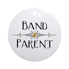 Band Parent Ornament (Round)
