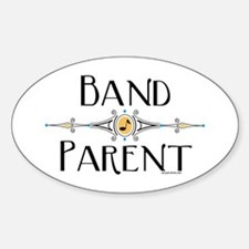 Band Parent Oval Decal
