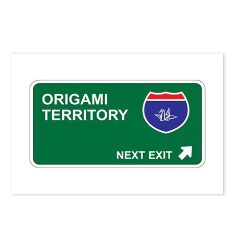 Origami Territory Postcards (Package of 8)