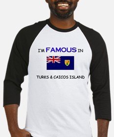 I'd Famous In TURKS & CAICOS ISLAND Baseball Jerse
