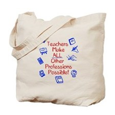 Unique School principal Tote Bag