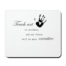 teachart1 Mousepad