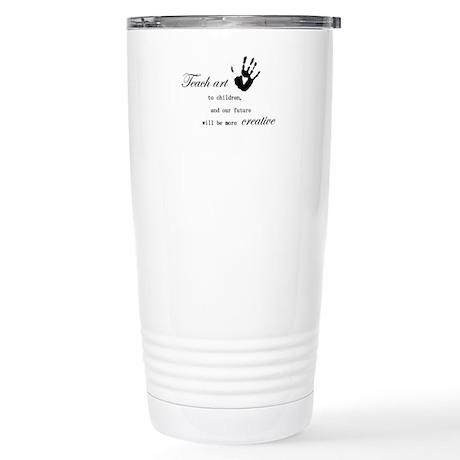 teachart1 Stainless Steel Travel Mug