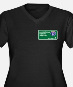 Occupational, Therapy Territory Women's Plus Size