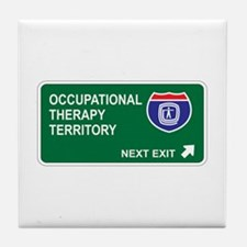 Occupational, Therapy Territory Tile Coaster