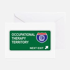 Occupational, Therapy Territory Greeting Cards (Pk