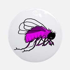 Pink & Purple Bee Keepsake (Round)