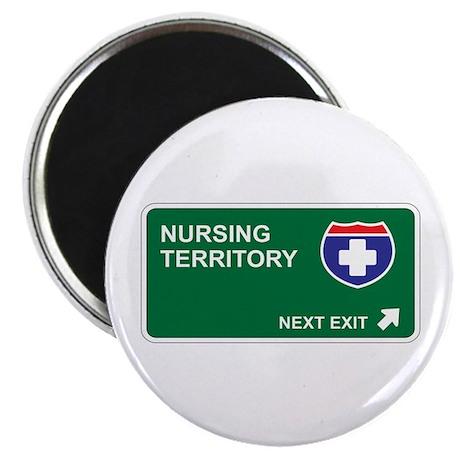 "Nursing Territory 2.25"" Magnet (100 pack)"