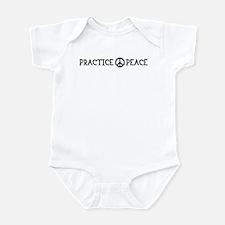 practice peace Infant Bodysuit