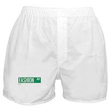 Fashion Avenue in NY Boxer Shorts