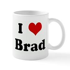 I Love Brad Mug