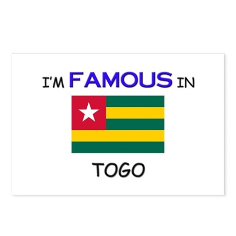 I'd Famous In TOGO Postcards (Package of 8)