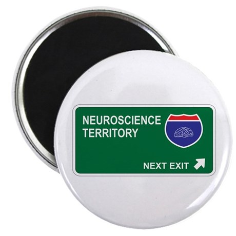 "Neuroscience Territory 2.25"" Magnet (100 pack)"