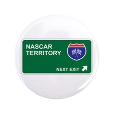 """NASCAR Territory 3.5"""" Button (100 pack)"""