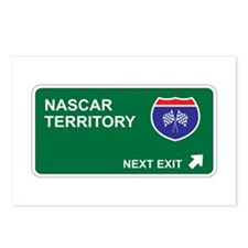 NASCAR Territory Postcards (Package of 8)