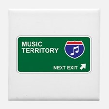 Music Territory Tile Coaster
