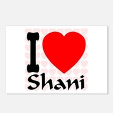 I (Heart) Shani Postcards (Package of 8)