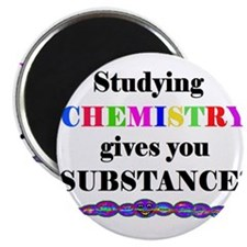STUDYING CHEMISTRY gives you Magnet