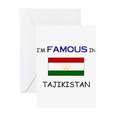 I'd Famous In TAJIKISTAN Greeting Card
