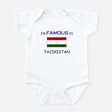 I'd Famous In TAJIKISTAN Infant Bodysuit