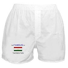 I'd Famous In TAJIKISTAN Boxer Shorts