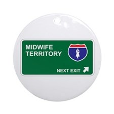 Midwife Territory Ornament (Round)