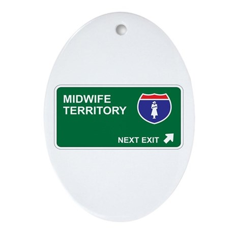 Midwife Territory Oval Ornament