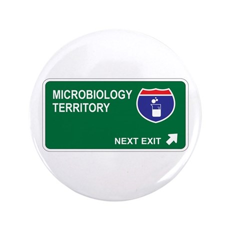 """Microbiology Territory 3.5"""" Button (100 pack)"""