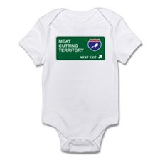 Meat, Cutting Territory Infant Bodysuit