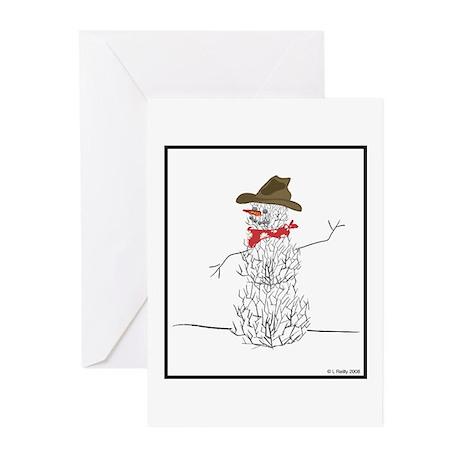 Tumbleweed Man Greeting Cards