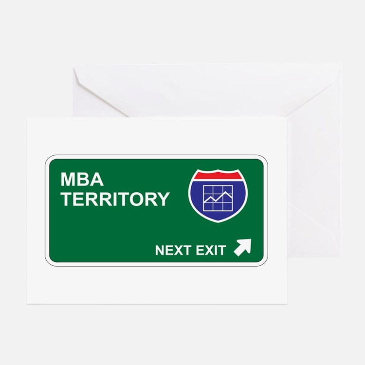MBA Territory Greeting Card