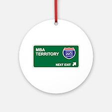 MBA Territory Ornament (Round)