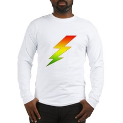 Jamaican Bolt Long Sleeve T-Shirt