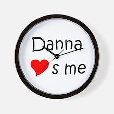 Cute Danna Wall Clock
