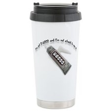 I've got E-6000 Travel Mug