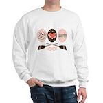 Peace Love Row Crew Sweatshirt