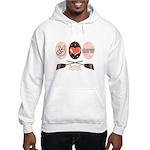 Peace Love Row Crew Hooded Sweatshirt