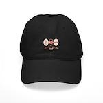 Peace Love Row Crew Black Cap